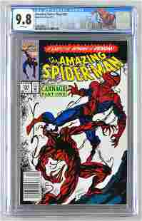 CGC Graded Marvel Comics The Amazing Spider-Man No. 361