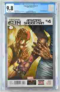 CGC Graded Marvel Comics Original Sin Spider-Man No. 4