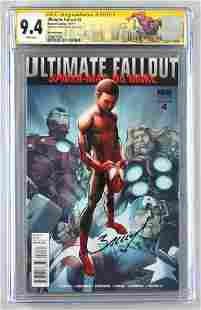 Signed CGC Graded Marvel Comics Ultimate Fallout No. 4
