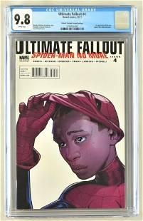 CGC Graded Marvel Comics Ultimate Fallout No. 4 comic