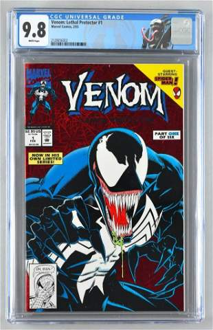 CGC Graded Marvel Comics Venom: Lethal Protector No. 1