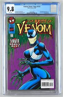 CGC Graded Marvel Comics Venom: Sinner Takes All No. 3