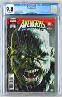 CGC Graded Marvel Comics Avengers No. 684 comic book