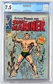 CGC Graded Marvel Comics Sub-Mariner No. 1 comic book