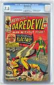 CGC Graded Marvel Comics Daredevil No. 2 comic book
