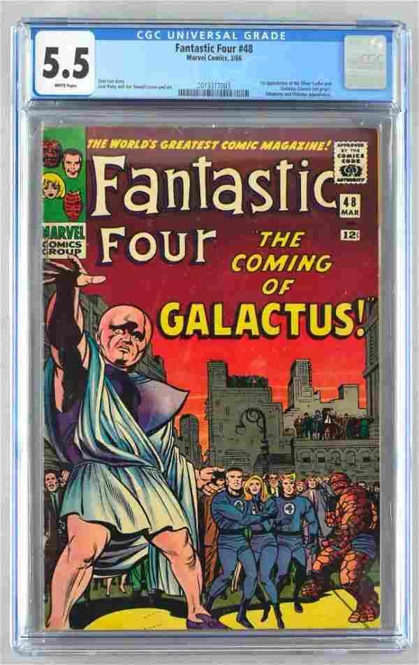 CGC Graded Marvel Comics Fantastic Four No. 48 comic
