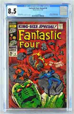 CGC Graded Marvel Comics Fantastic Four Annual No. 6