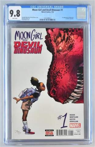 CGC Graded Marvel Comics Moon Girl and Devil Dinosaur