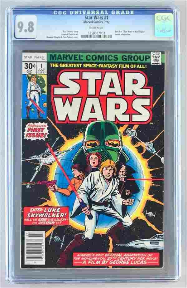 CGC Graded Marvel Comics Star Wars No. 1 comic book