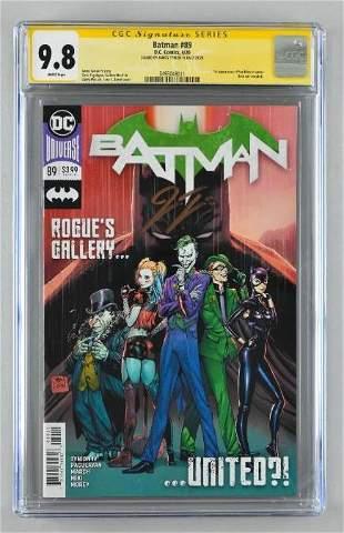 Signed CGC Graded DC Comics Batman No. 89 comic book
