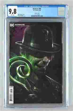 CGC Graded DC Comics Batman No. 90 comic book