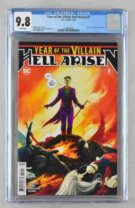 CGC Graded DC Comics Year of the Villain: Hell Arisen