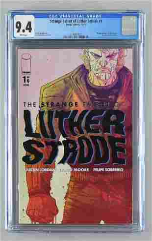 CGC Graded Image Comics Strange Talent of Luther Strode