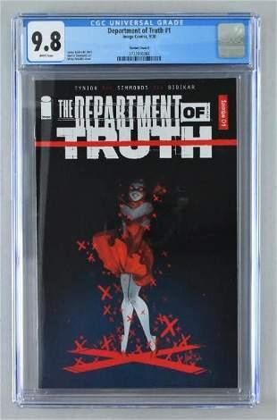 CGC Graded Image Comics Department of Truth No. 1 comic
