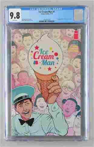 CGC Graded Image Comics Ice Cream Man No. 1 comic book