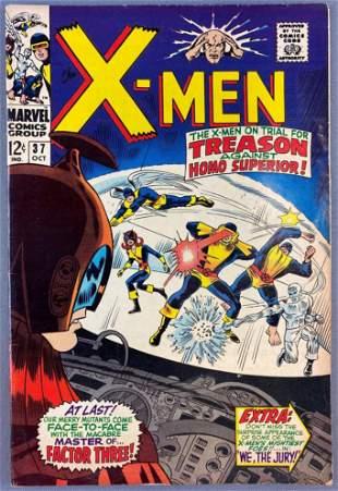 Marvel Comics The X-Men No. 37 comic book