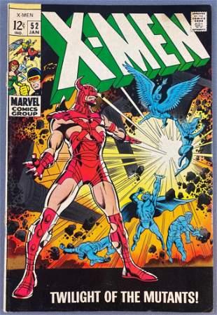 Marvel Comics The X-Men No. 52 comic book