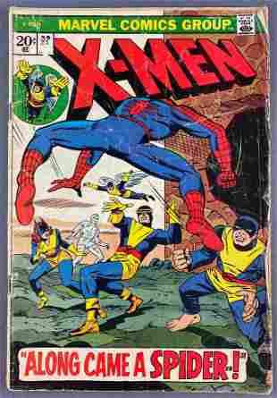 Marvel Comics The X-Men No. 83 comic book