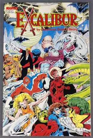 Marvel Comics Excalibur Special Edition comic book
