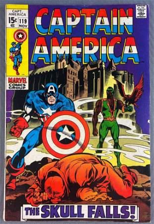 Marvel Comics Captain America No. 119 comic book