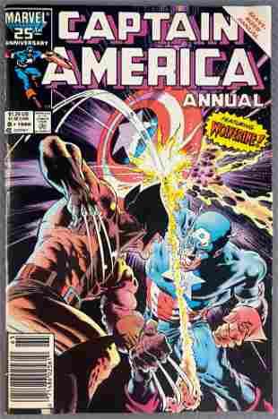Marvel Comics Captain America Giant-Sized Annual No. 8