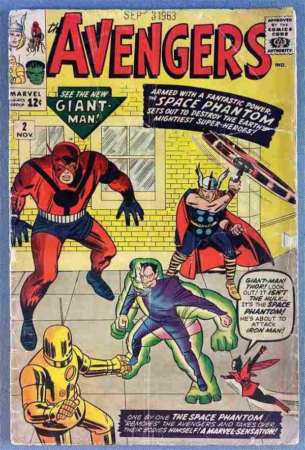 Marvel Comics The Avengers No. 2 comic