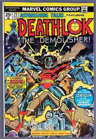 Marvel Comics Astonishing Tales No. 25 comic book