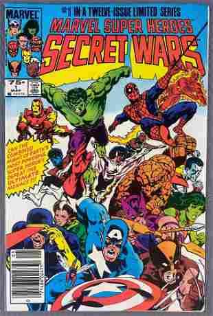 Marvel Comics Marvel Super Heroes Secret War No. 1