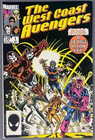 Marvel Comics West Coast Avengers No. 1 comic book