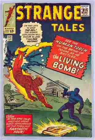 Marvel Comics Strange Tales No. 112 comic book