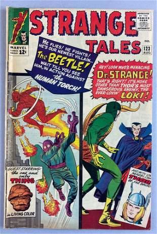 Marvel Comics Strange Tales No. 123 comic book