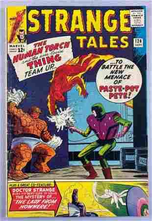Marvel Comics Strange Tales No. 124 comic book