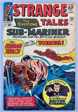 Marvel Comics Strange Tales No. 125 comic book