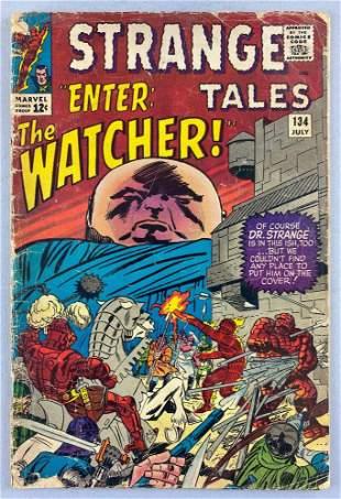 Marvel Comics Strange Tales No. 134 comic book