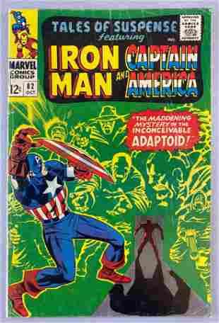 Marvel Comics Tales of Suspense No. 82 comic book