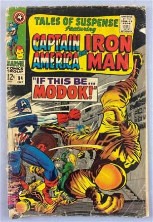 Marvel Comics Tales of Suspense No. 94 comic book