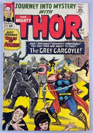 Marvel Comics Journey into Mystery No. 107 comic book