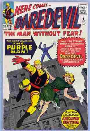 Marvel Comics Daredevil No. 4 comic book