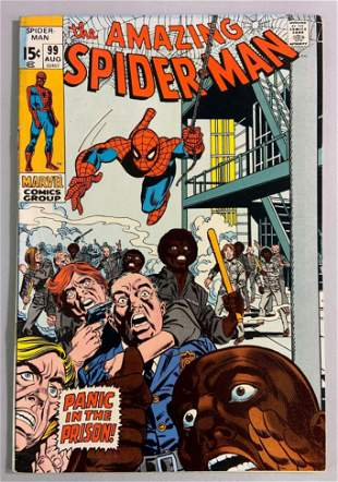 Marvels The Amazing Spider-Man No. 99 comic book