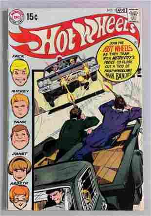 DC Comics Hot Wheels no. 3 comic book