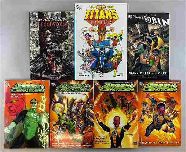 Group of 7 DC Comics Trade Comics