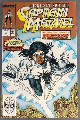 Marvel Comics Captain Marvel Giant-Size Special No. 1