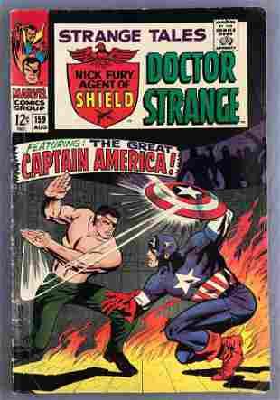 Marvel Comics Strange Tales No. 159 comic book