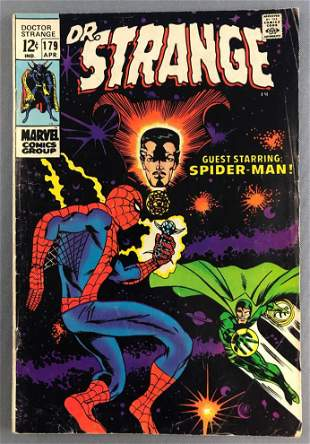Marvel Comics Dr. Strange No. 179 comic book