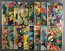 Group of 18 DC Comics comic books