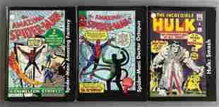 Group of 3 Modern Age Marvel Comics Mini Comics