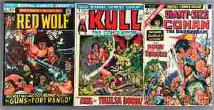 Group of 3 Marvel Comics comic books
