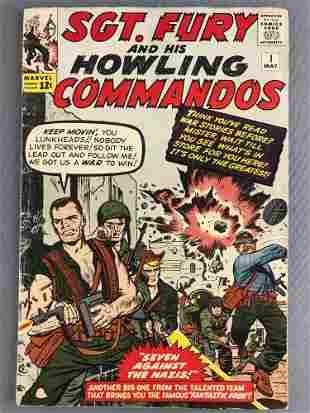 Marvel Comics Sgt. Fury and His Howling Commandos No. 1