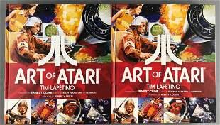 Group of 2 Dynamite Entertainment Art of Atari