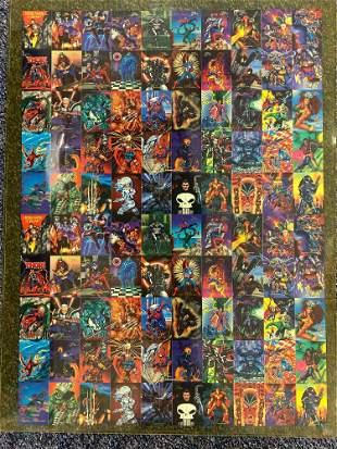 Fleer 94 Marvel Superheroes Trading Cards poster